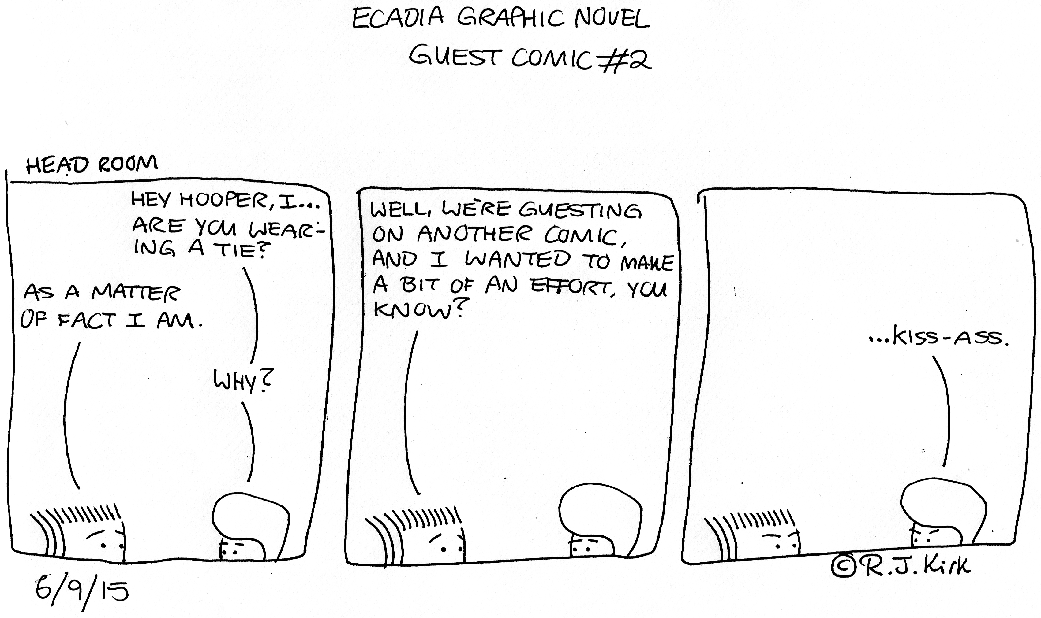 Ecadia Graphic Novel guest comic #2